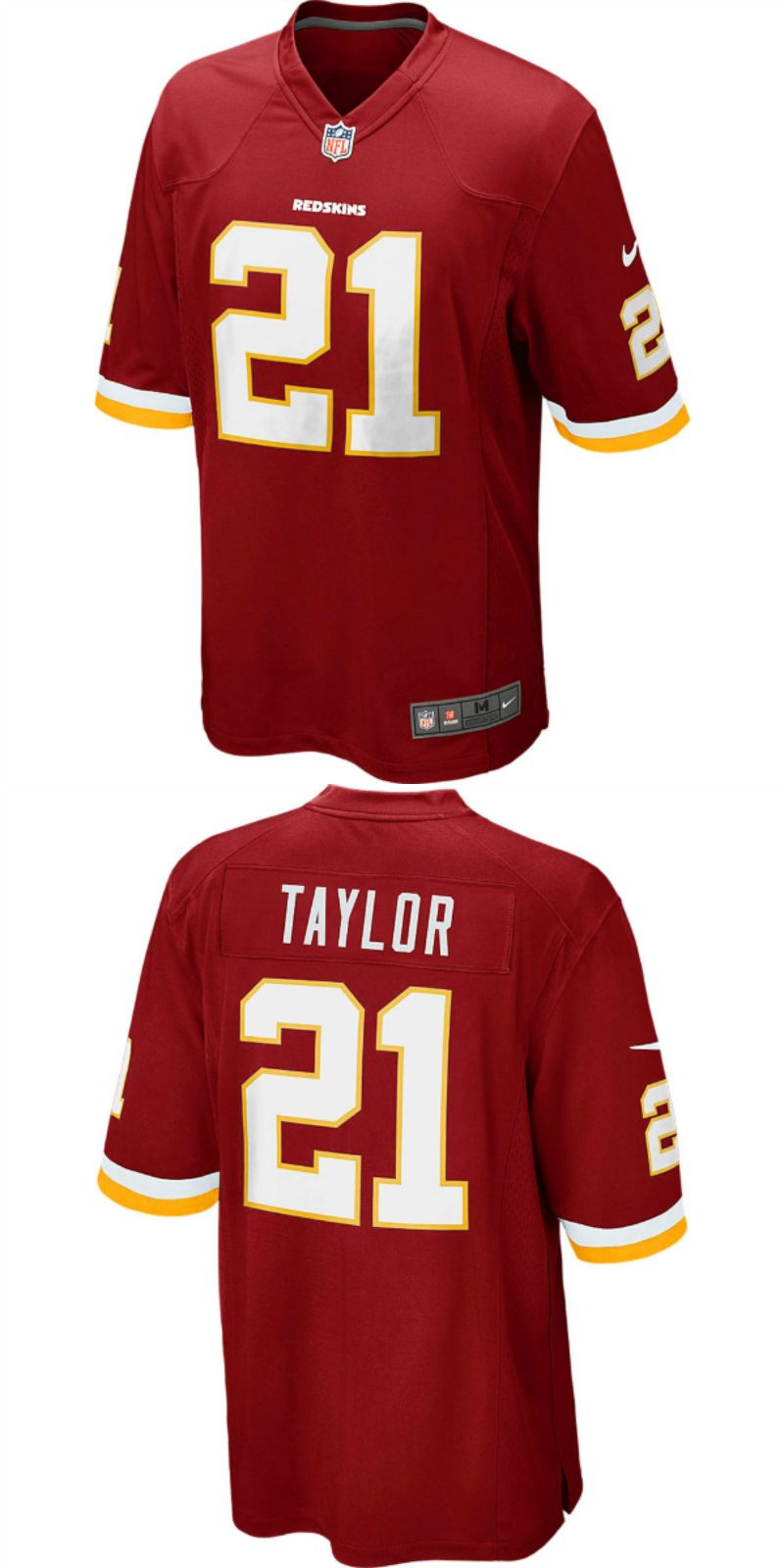 detailed look 6dce9 c67b4 UP TO 70% OFF. Sean Taylor Washington Redskins Nike Retired ...