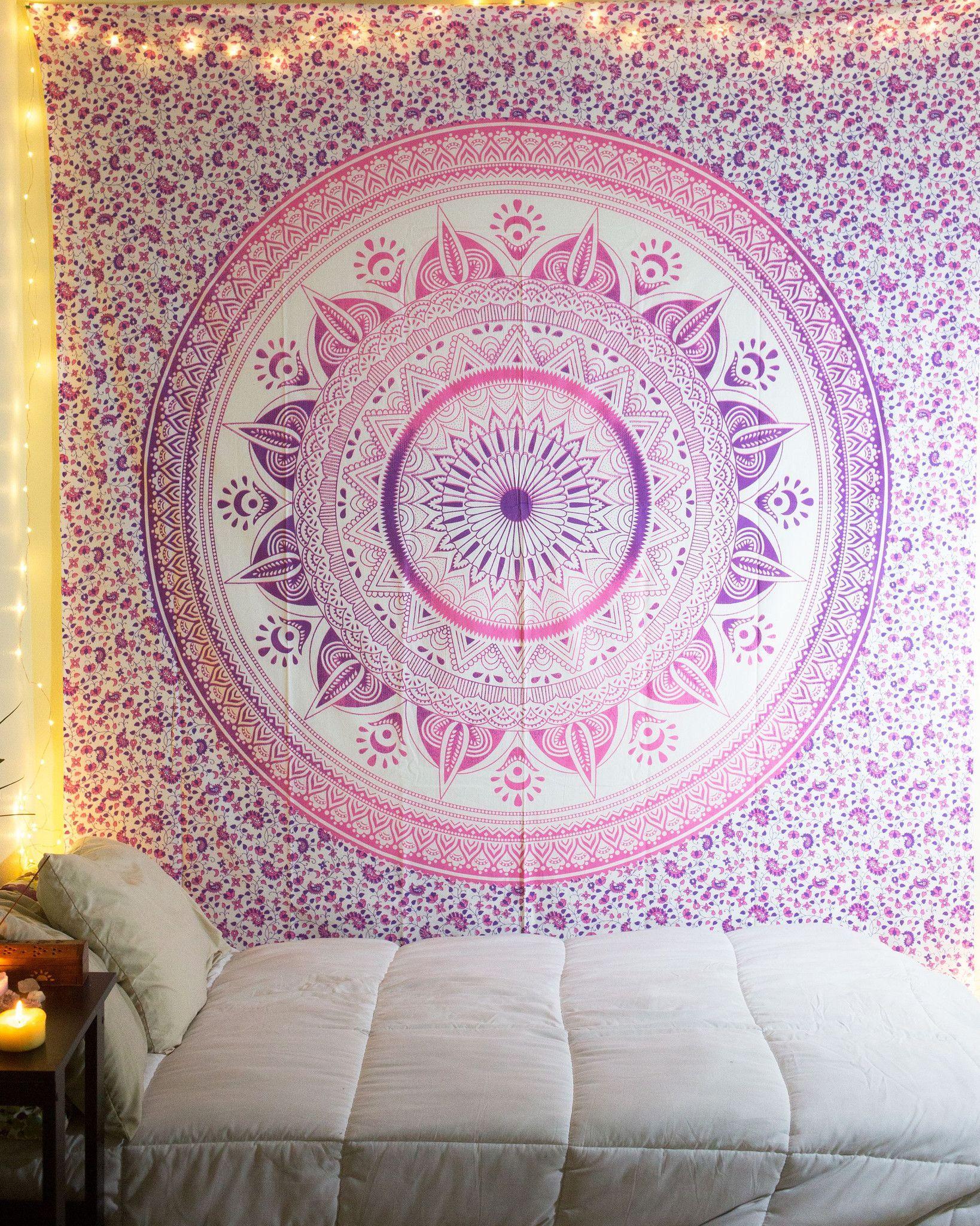 Warm Summer Tapestry Room tapestry, Dorm room walls
