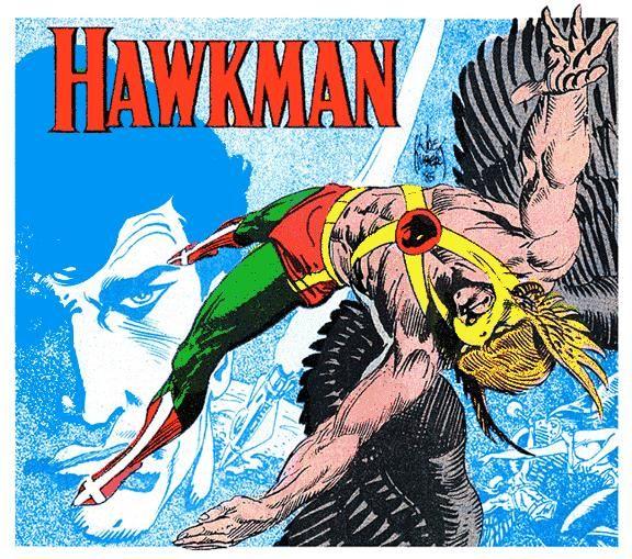 Hawkman by Joe Kubert #hawkman #joekubert