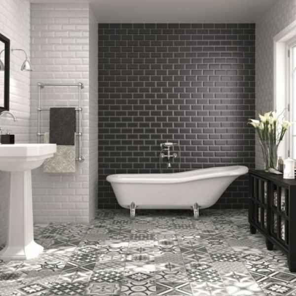 bad einrichten fliesen trends in der badezimmereinrichtung f r 2017 badezimmer ideen. Black Bedroom Furniture Sets. Home Design Ideas