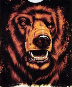 STEP-BY-STEP Airbrushing a Bear On a Black Shirt By Gary Worthington! http://bit.ly/1iAlOZZ