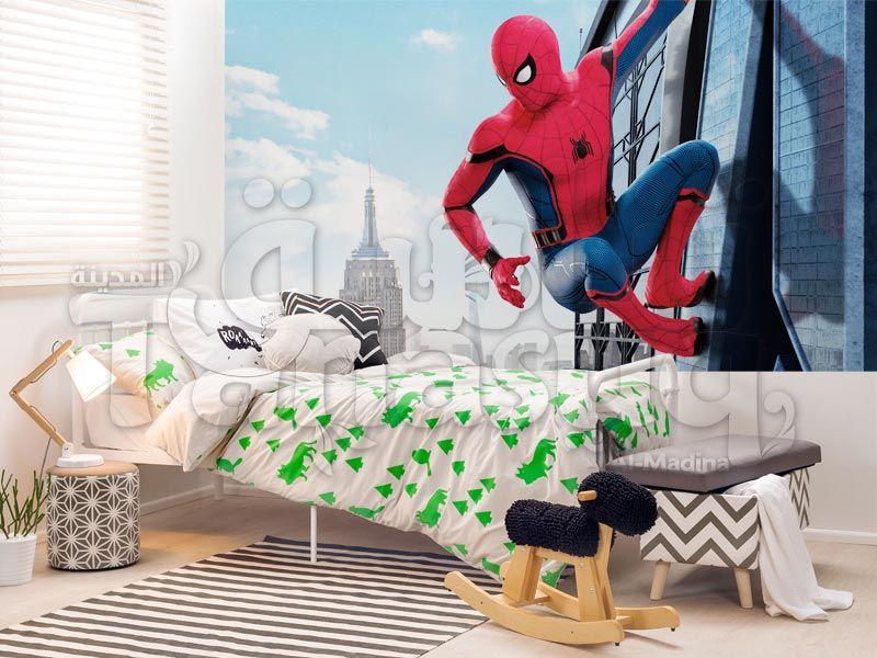 ورق جدران سبايدر مان Toddler Bed Man Wallpaper Wallpaper