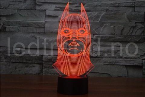 led-lampe-med-3D-effekt - LEDtrend.no - 5  Unik superhelt 3D lampe med LED-lys som gir det lille ekstra til hjemmet ditt. 3D lampen vil tiltrekke seg alles øyner når folk kommer på besøk til deg, ingen har sett en slik illusjon som dette før. You find it on ledtrend.no