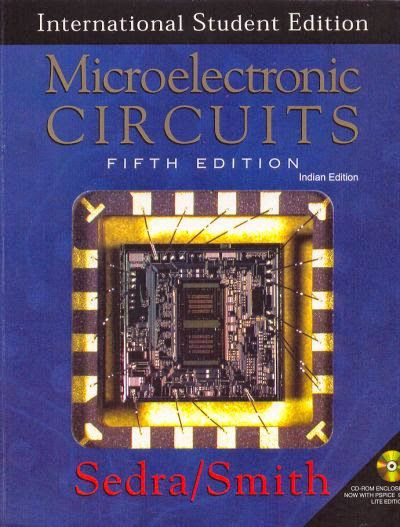 Microelectronic Circuits 5th Edition By Sedra Smith Circuit Edition International Students