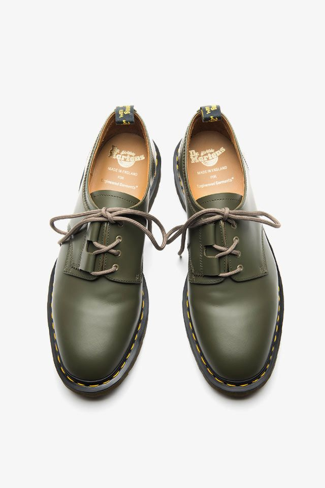 + Dr Martens Leather Derby Shoes Engineered Garments LxtzHPY