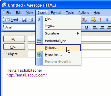 How Do You Add A Graphic Or Animation To An Outlook Email Signature Outlook Signature Outlook Email Signature Email Signatures