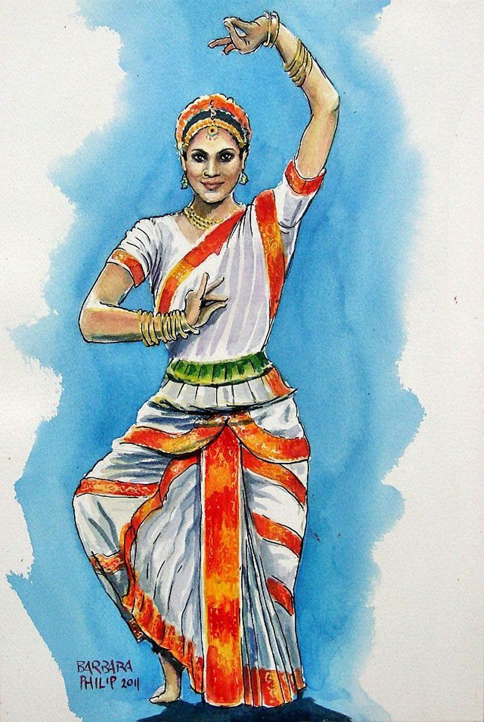 Pin by White Night on painting   Pinterest   India, Indian art and ... for Abstract Painting Of Indian Dancers  56mzq