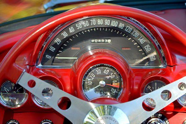 Corvette Dashboard Photograph