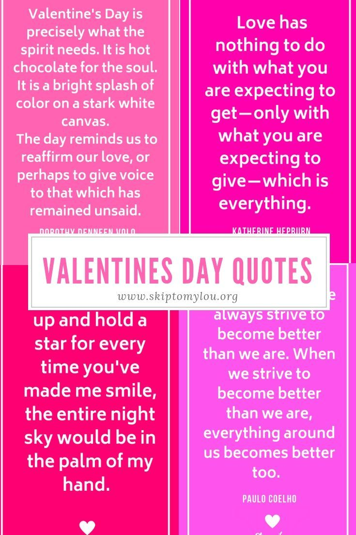 30 Valentines Day Quotes To Share With Those You Love