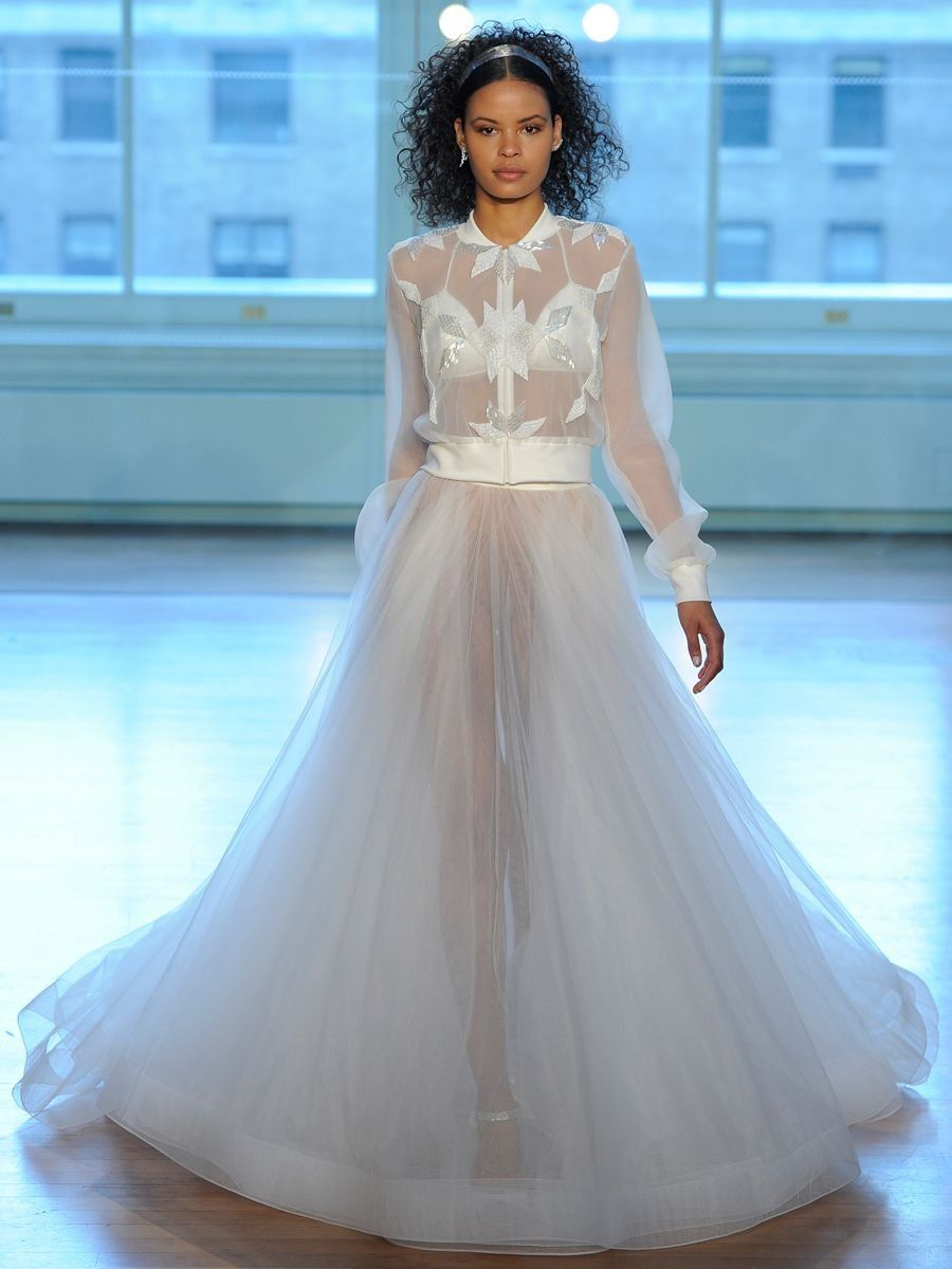 Justin Alexander Spring 2019: Airy and Ethereal Wedding Dresses ...