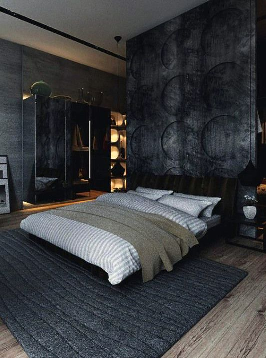 80 Bachelor Pad Men S Bedroom Ideas Manly Interior Design Grey Bedroom Design Mens Bedroom Furniture Luxurious Bedrooms