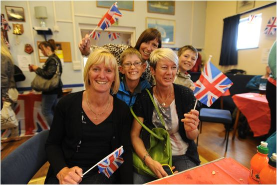 Diamond Jubilee celebrations at the RNA club in Lincoln