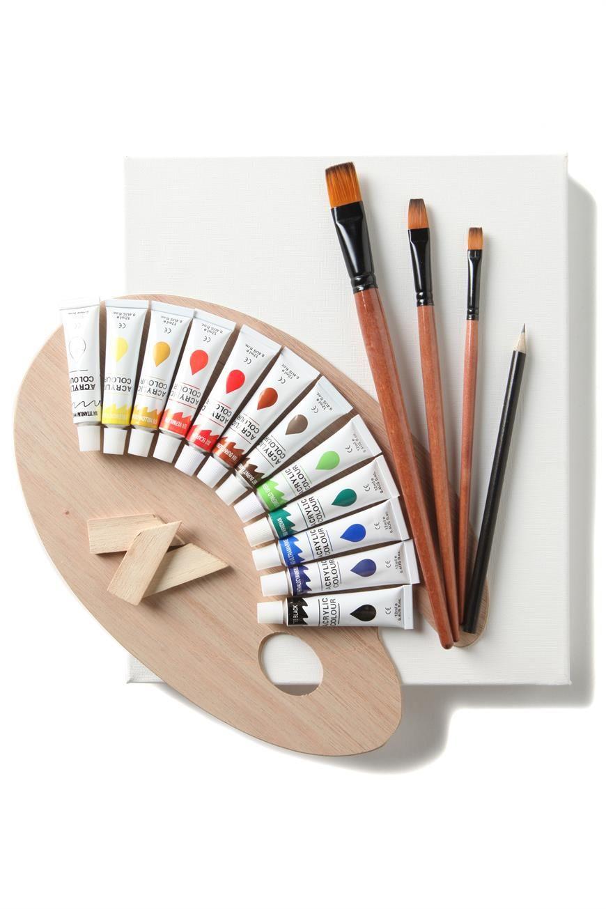 Canvas paint kit kinder kinder kinder pinterest canvases canvas paint kit sciox Gallery