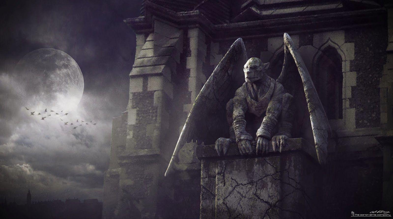 Gargoyle Hd Wallpaper Google Zoeken Gargoyles Frankenstein