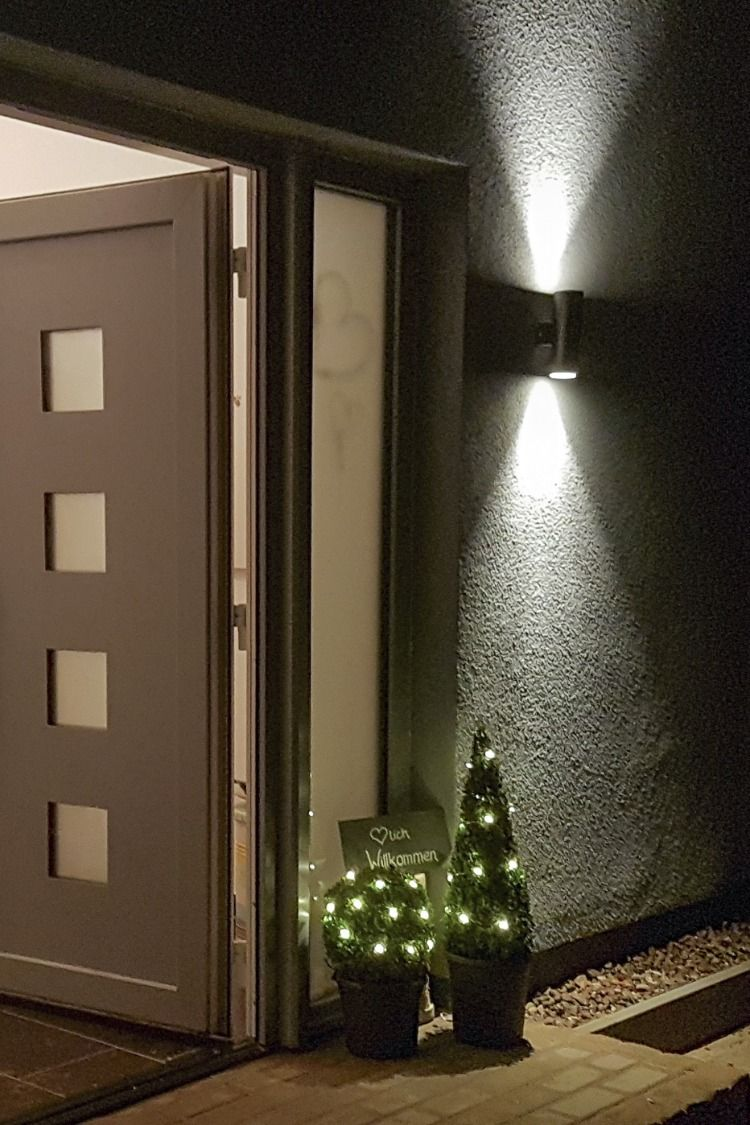 LED Wand Haustür Beleuchtung für Aussen