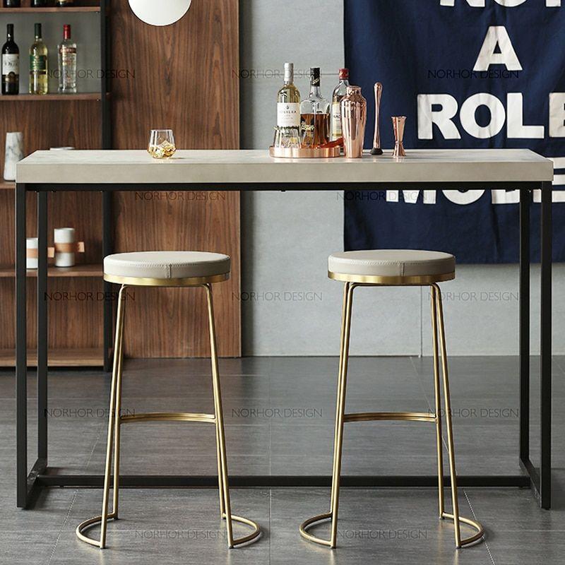 Cheap Bar Stools Buy Directly From China Suppliers Nordic Bar Stool Wrought Iron Bar Stool Fashio Simple Dining Chairs Wrought Iron Bar Stools Iron Bar Stools