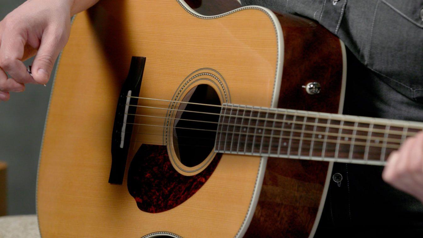 Acoustic Guitar Tuner Online Tuning Acoustic Fender Gitar Akustik Gitar