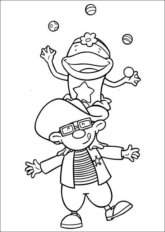jojos zirkus 36 ausmalbilder für kinder. malvorlagen zum