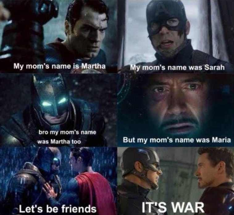 Best Marvel Vs Dc Memes Seen On Internet Ever With Images Iron