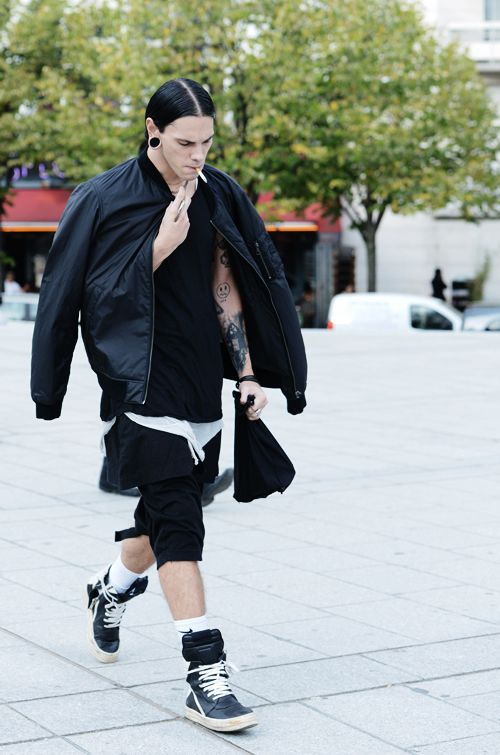 0772712c7 Rick Owens outfit #fashion | Look book | Mens fashion:__cat__ ...