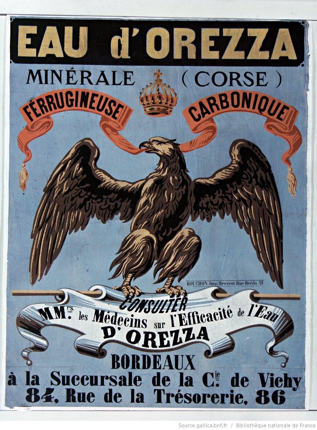 Carte Corse Orezza.Eau D Orezza Corse Minerale Ferrugineuse Carbonique