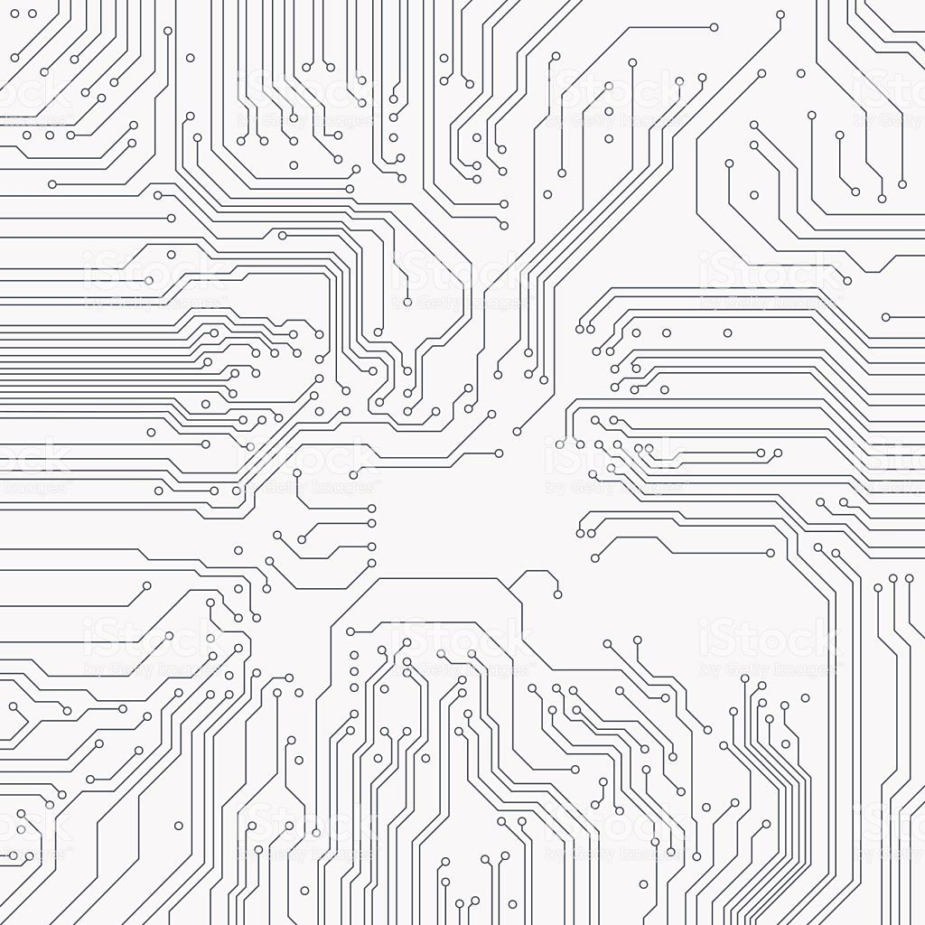 Circuit Board Background Vector Electronic Background In