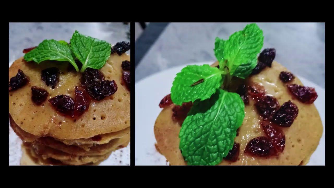 Sarapan Sehat Resep Pancake Oatmeal Buah Cuma 2 Menit Super Cepat Dan L Di 2020 Resep Makanan Penutup Resep Kue Resep Makanan