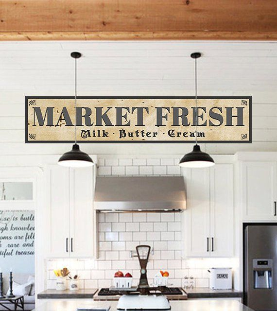 Market Fresh Farmhouse Sign