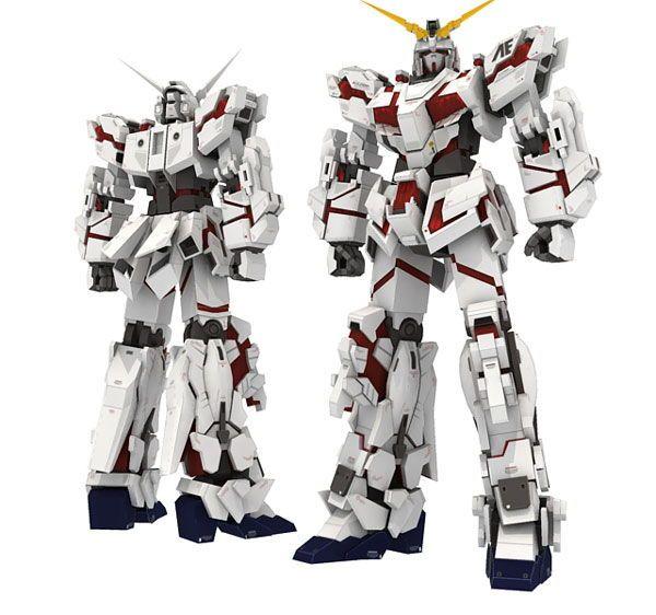 Building & Construction Toys Gundam Rx-o Unicorn 3d Paper Model Handmade Toy Great Varieties Toys & Hobbies