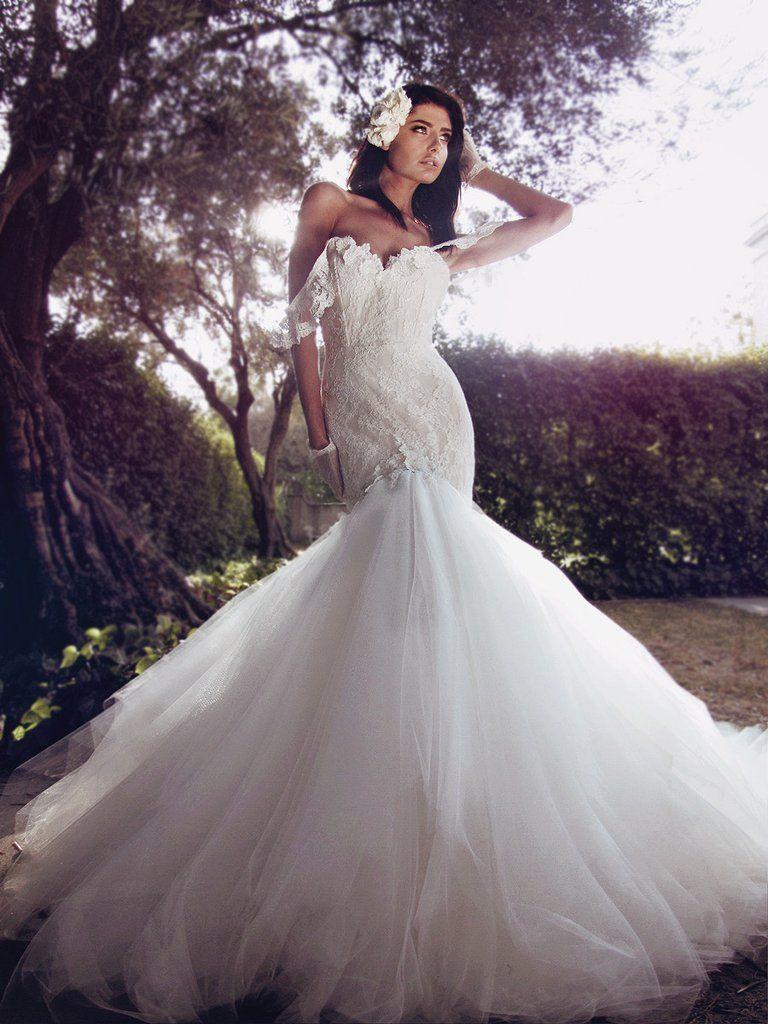 Calais vestidos novia bridal dresses pinterest mermaid