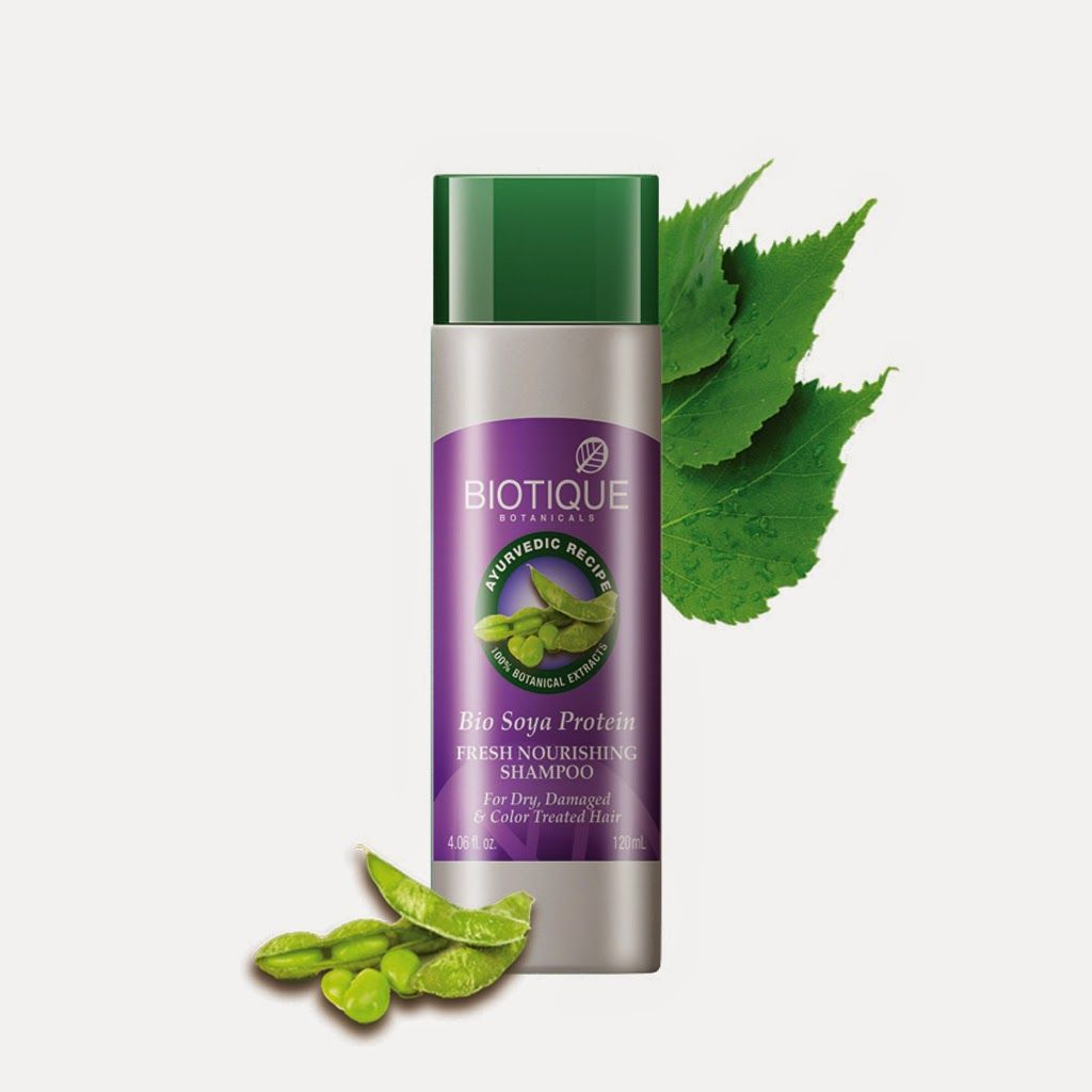 Biotique Best Herbal Shampoos For Dry Hair Buy Bio Soya Protein
