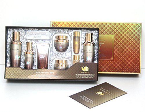 Jant Blanc Snail Mucus Skin Care 6 Item Set Moisture Korean Cosmetics You Can Get More Details By Clicking On The Im Korean Cosmetics Skin Care Moisturizer