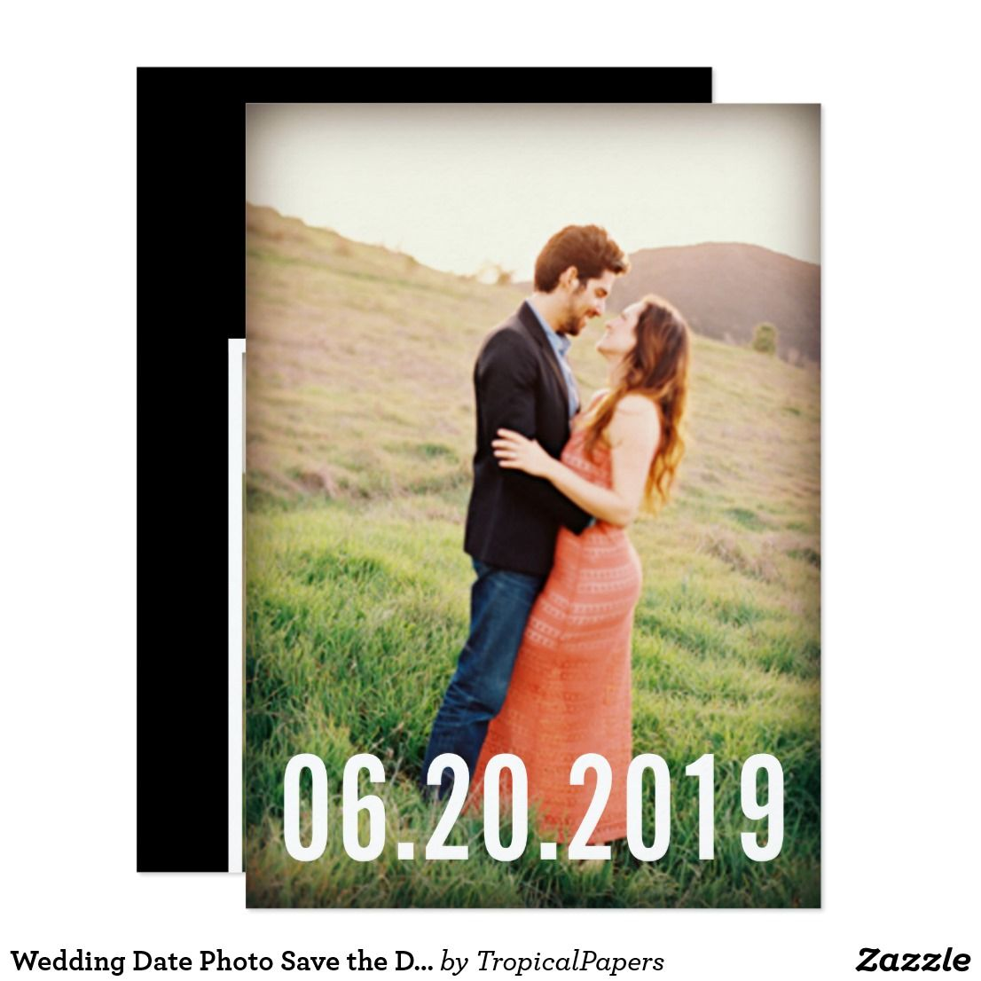 Night before wedding decorations january 2019 Wedding Date Photo Save the Dates Card  Favours and Wedding
