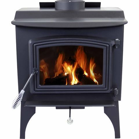 Pleasant Hearth Wood Stove with Legs. Coverage - Tractor Supply ... - Pleasant Hearth Small Stove, 1,200 Sq. Ft. Coverage - Tractor