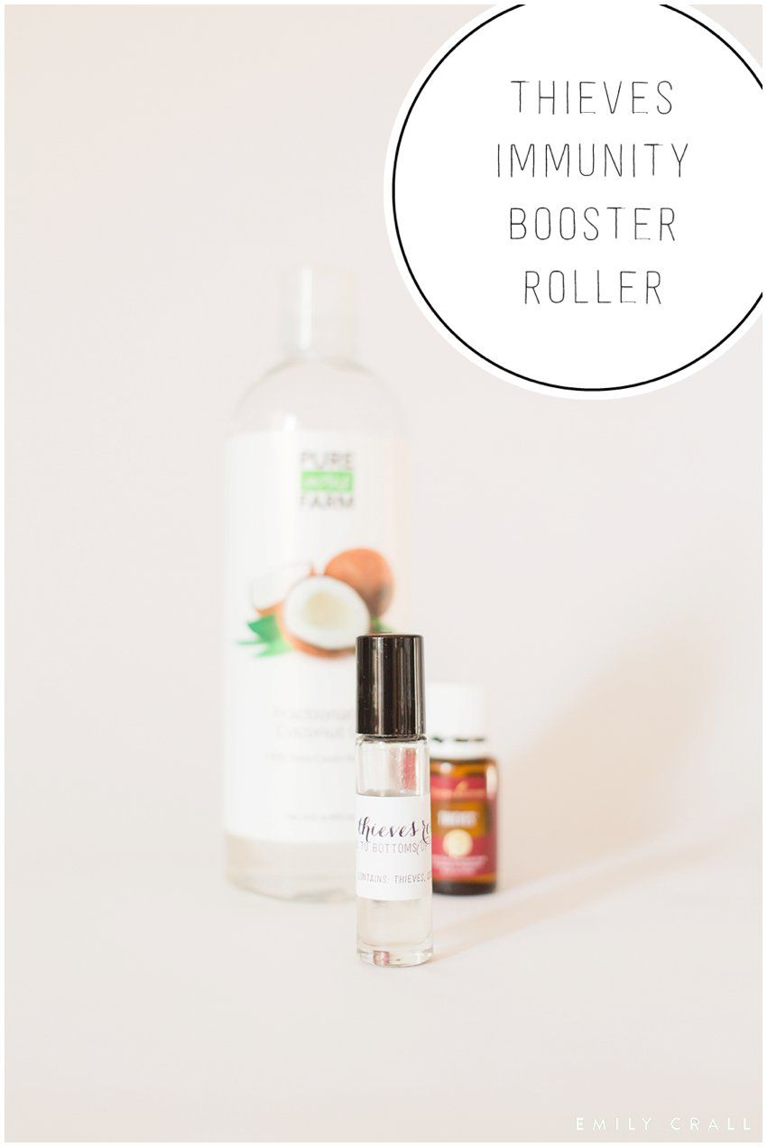 Thieves Immunity Booster Roller Essential Oils For Kids