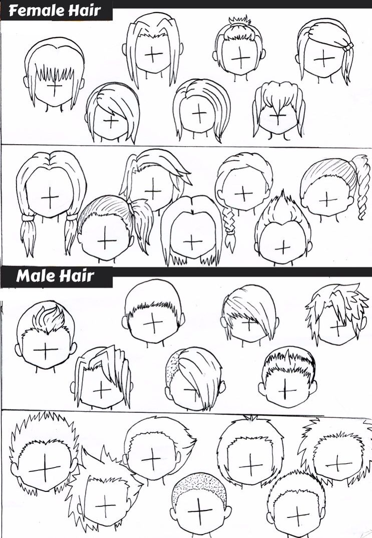 Hairstyles Chibi Hair Kawaii Drawings Chibi Drawings