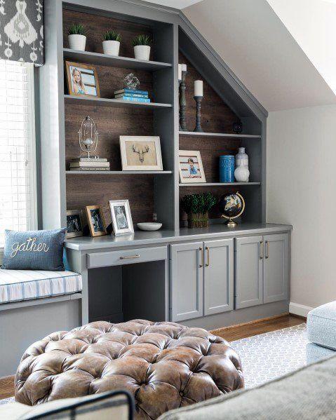 Top 60 Best Built In Bookcase Ideas - Interior Bookshelf Designs images