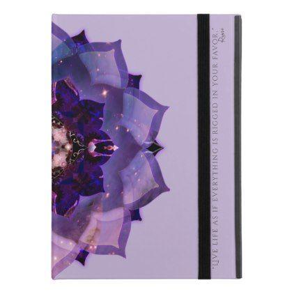"Inspirational Purple Lotus Mandala iPad Pro 9.7"" Case"