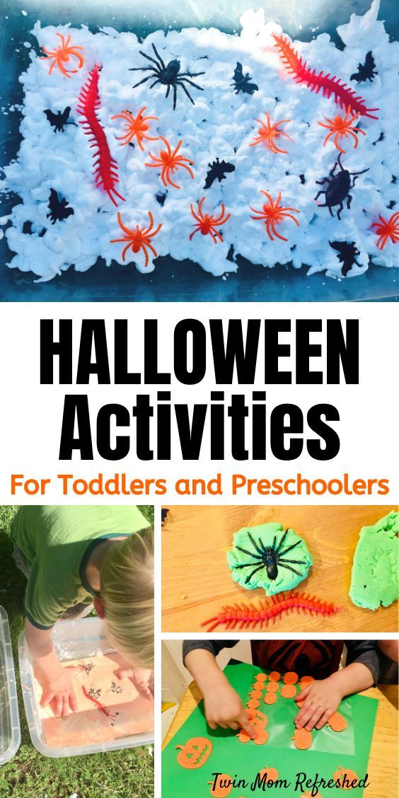 Halloween Activities For Toddlers – Twin Mom Refreshed