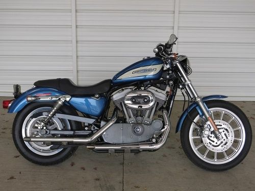 used 2005 harley davidson sportster 1200 roadster for sale 5 595 mckinney texas usedharleys. Black Bedroom Furniture Sets. Home Design Ideas