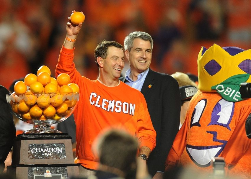 CBS Sports Bowl Projections Have Clemson Playing in the
