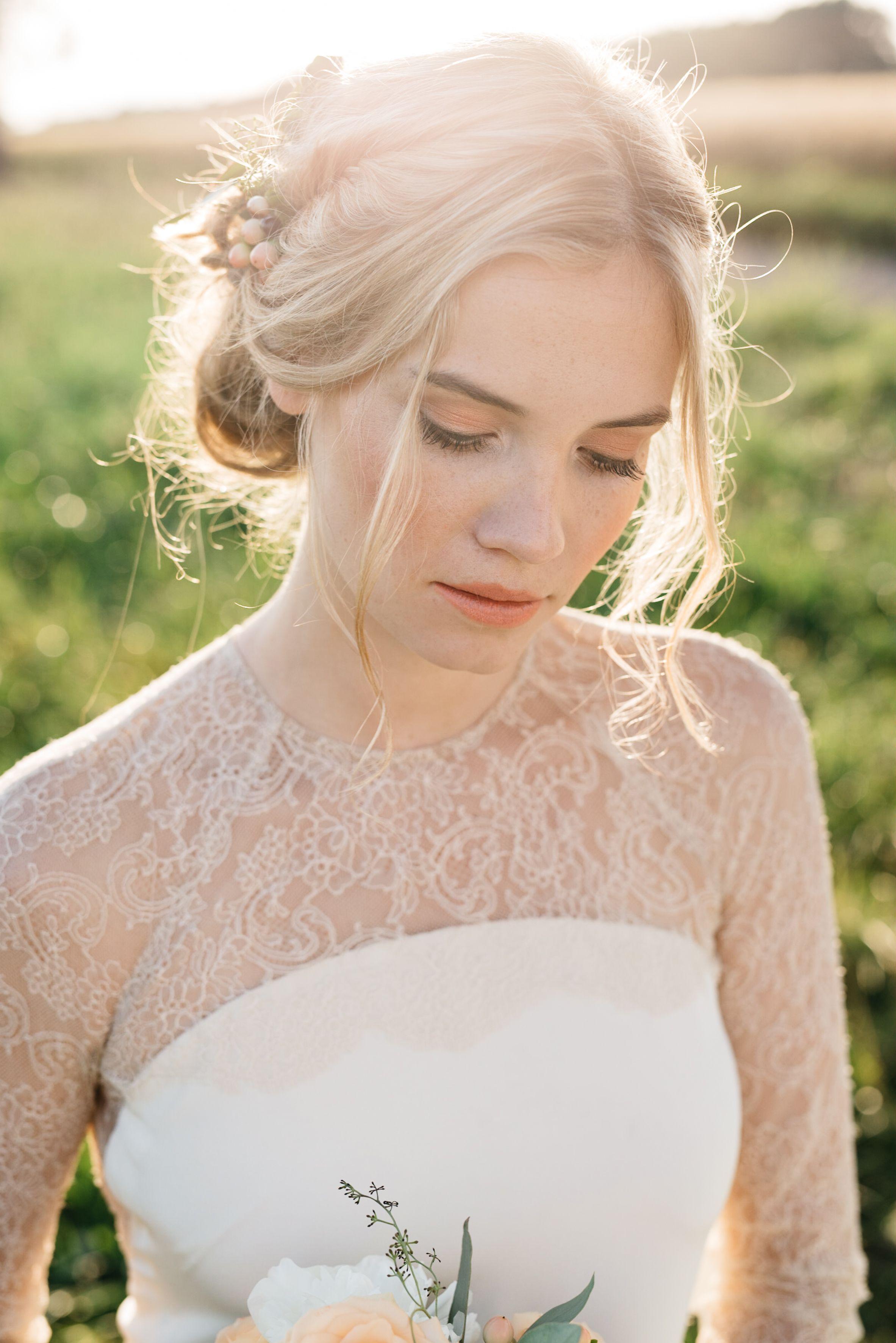 Braut Make-up, Brautfrisur - by www.feengleich-makeup.com, Foto