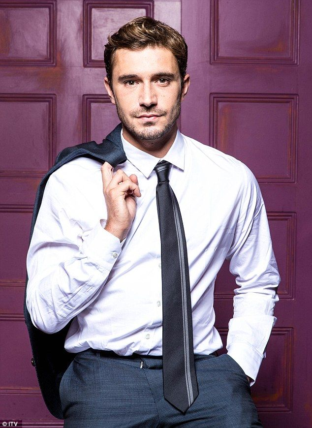 Mystery man: Gavin Rodwell (Oliver Farnworth) is covering up a dark secret from his past...