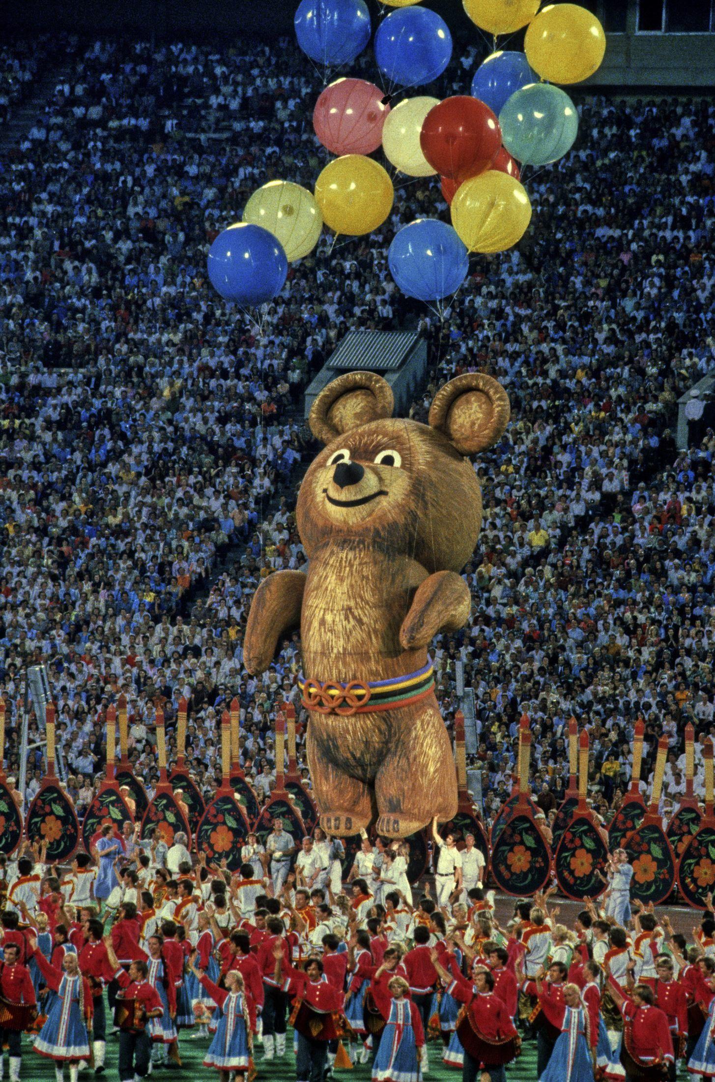 предания картинка олимпийского мишку применимо отношении внешности