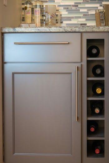 Kitchen Remodel (Wet Bar) (Wine Rack)
