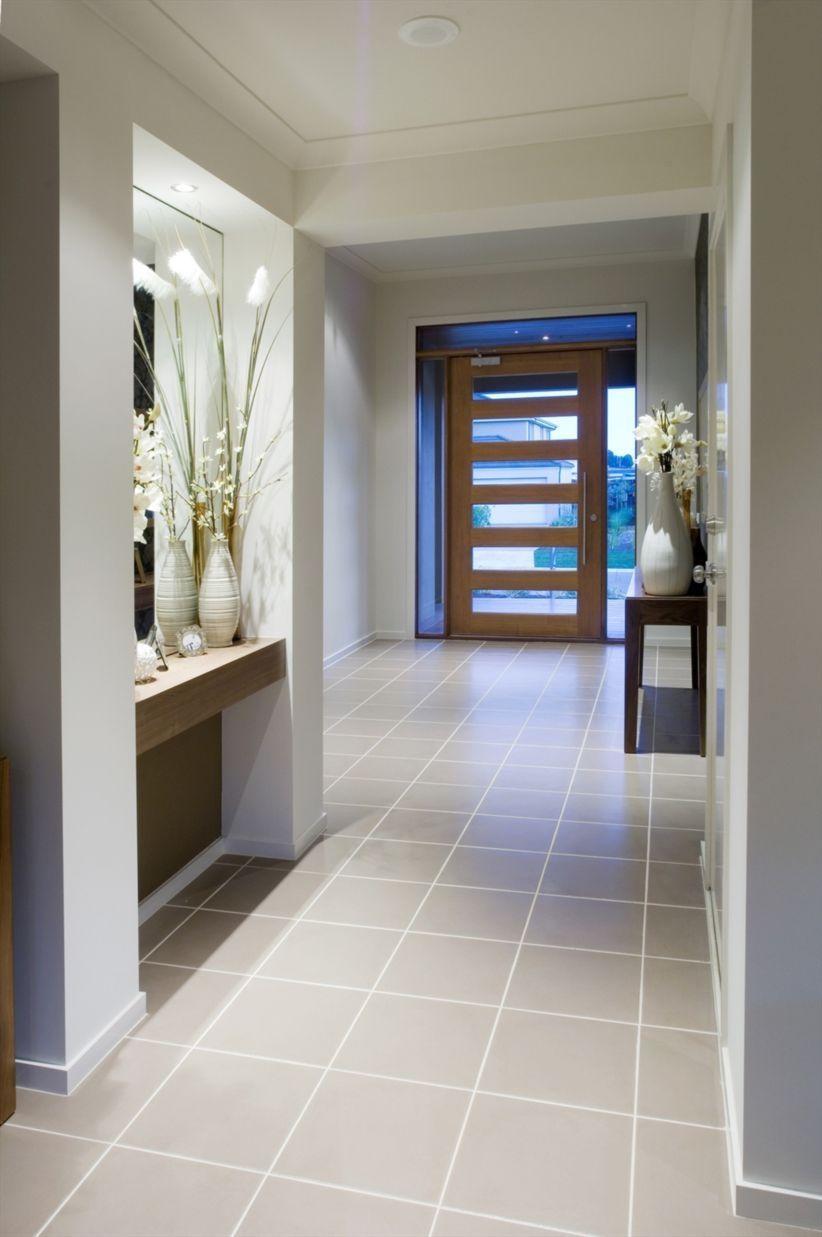 contemporary hallway living room tiles