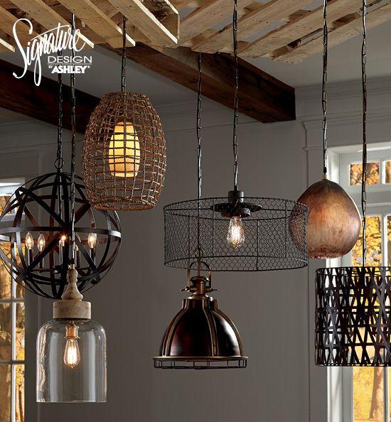 pendant lighting ashley furniture