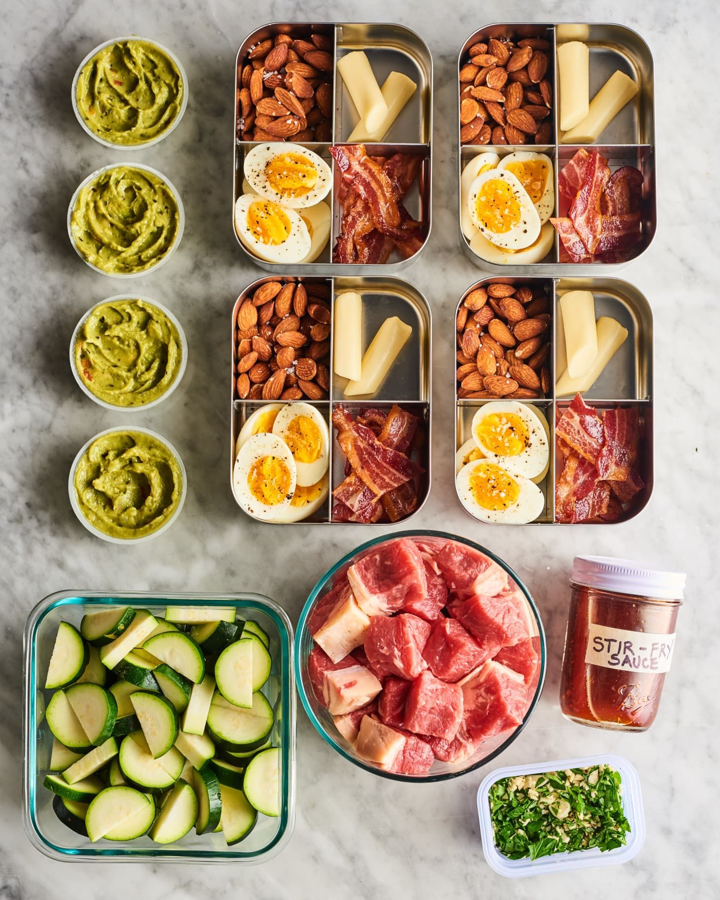 Meal Prep Plan How I Prep a Week of Easy Keto Meals in