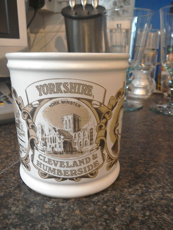 Denby Pottery Commemorative Yorkshire Mug By