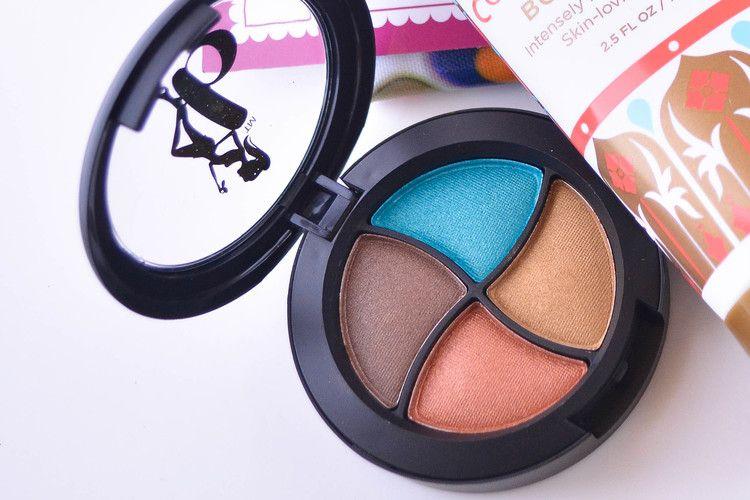 Be A Bombshell Cosmetics Quad Bora Bora  valued at $16 -March 2014
